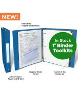 Paper Charting Toolkit with 1-Inch Binder (Set of 20)