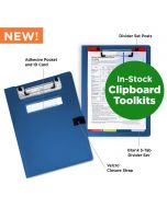 Paper Charting Toolkit with Privacy Clipboards (Set of 10)