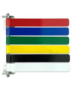 3, 4 or 6-Colors Exam Room Flags
