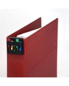 Four-Color Clip-On Nurse Alert for Ring Binders and Clipboards