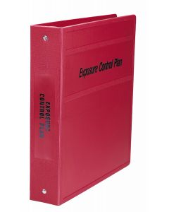 Heavy Duty 3-Ring Binder for Exposure Control Manuals - Side Opening