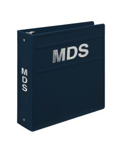 Heavy Duty 3-Ring Binder for Minimum Data Set (MDS) Manuals - Side Opening