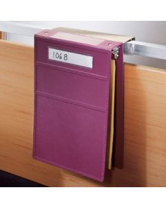 Overbed Hanger Attachment for Ringbinders and Clipboards
