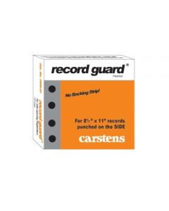 Record Guard® Side-Hole Punched, Case of 12 Boxes