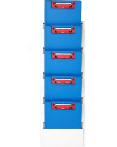 Vertical Chart Holder for Clipboards – Wall-Mounted Organizer