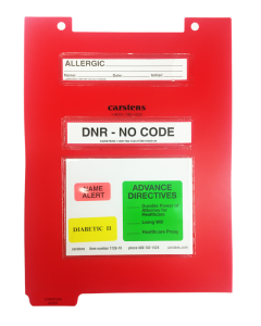 Condition Alert Sheets, Legal-Size Clipboard Dividers(10 Per Pack)