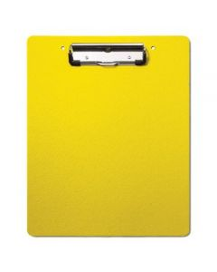 Heavy Duty Plastic Clipboard with Low-Profile Clip – All Colors