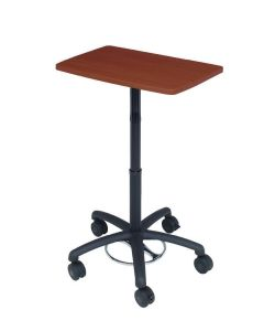 WALKAroo™ 6402 Basic Mobile Laptop Desk and Workstation – Height Adjustable from 30.5