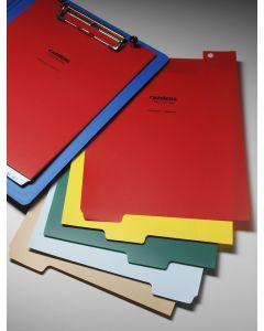 Heavy Duty Blank Divider Set, 5-Tab, for Extended Letter-Sized Clipboards