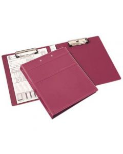 Heavy Duty Book Style Clipboard with Cover, 2 Clips – All Colors