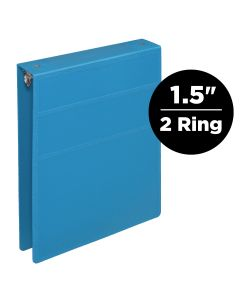 1.5-Inch Heavy Duty 2-Ring Binder for Medical Charting – Top Opening