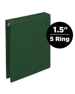 1.5-Inch Heavy Duty 5-Ring Binder for Medical Charting – Top Opening