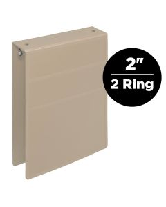 2-Inch Heavy Duty 2-Ring Binder for Medical Charting – Top Opening