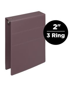 2-Inch Heavy Duty 3-Ring Binder for Medical Charting – Top Opening