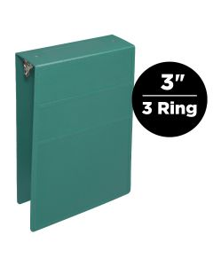 3-Inch Heavy Duty 3-Ring Binder for Medical Charting – Top Opening