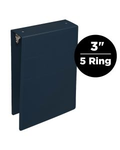 3-Inch Heavy Duty 5-Ring Binder for Medical Charting – Top Opening